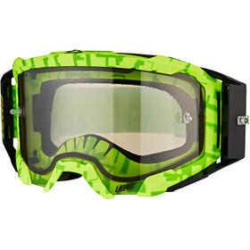 Leatt Velocity 5.5 Anti Fog Lunettes de protection, neon lime/light grey